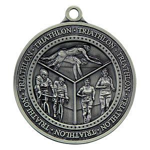 Personalised Triathlon Medal
