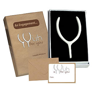 Snapable Wishbone Gift
