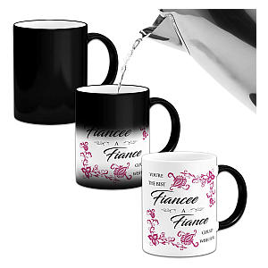 Your the Best Fiancee Colour Changing Mug