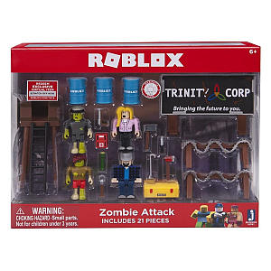 Zombie Attack Playset