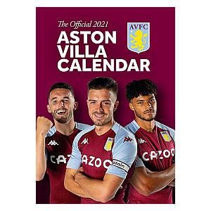 Aston Villa 2021 Calendar