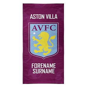Aston Villa Beach Towel