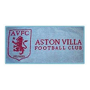 Aston Villa Crest Bar Towel