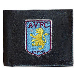 Leather Aston Villa Wallet