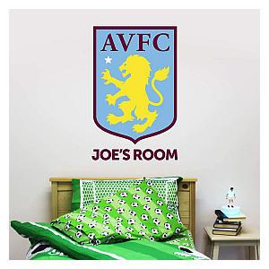 Personalised Villa Crest Wall Sticker