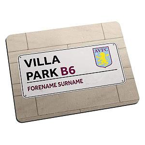 Villa Park Sign Mouse Mat
